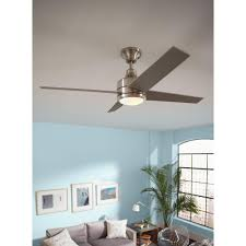 mercer 52 ceiling fan hton bay 14925 mercer 52 in brushed nickel ceiling fan pppwa