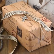 postal wrapping paper gift wrapping madame accessoires