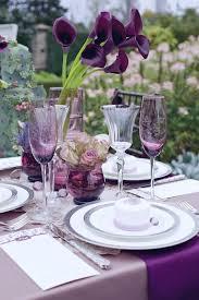 Table Settings Ideas 25 Stylish Purple Table Settings Ideas On Pinterest Purple