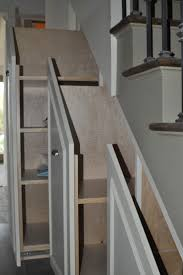 best images about under stairs storage cabinet pinterest storage idea for under the basement stairs good gift wrap toys etc