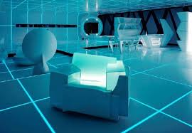Bedroom Design In TRON Legacy Inspiration For Home Designing - Futuristic bedroom design