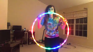helix led hoop the fusion led hula hoop unboxing review