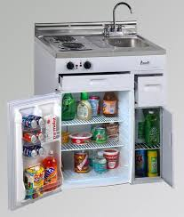 compact kitchen with refrigerator latest trends in home appliances