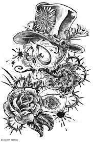sugar skull face tattoo tattoo collections