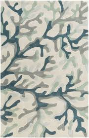 Fall Area Rugs Teal Grey Coral Reef Plush Area Rug Coral Reefs Plush And Teal