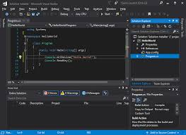 tutorial instal visual basic 6 0 di windows 7 create an installer from visual studio