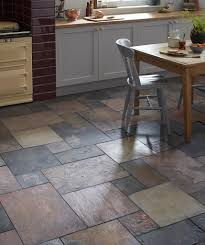 Slate Kitchen Floor by Natural Slate Sheera Modular Topps Tiles Cozy Home Sweet Home