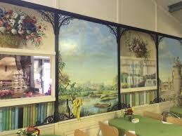 tea room mural farm shop in surrey fresh fruits vegetables mural 1