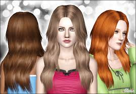 the sims 3 hairstyles and their expansion pack mod the sims diamond rose long and wavy hair for females