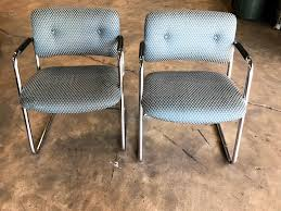 Guest Chairs by Retro Guest Chairs By Steelcase Reupholstered Dynamic Office