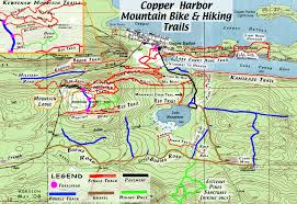 Chelsea Michigan Map by Copper Harbor Trail Map Copper Harbor Mi Us U2022 Mappery