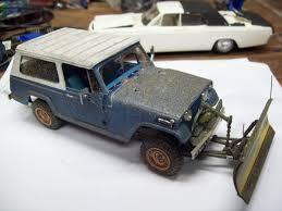 commando green jeep 1968 jeep commando with plow scale auto magazine for building