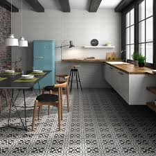 Black And White Kitchen Floor Tiles - black and white floor tiles patterned tiles direct tile warehouse