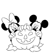 minnie mouse halloween coloring pages disney halloween coloring
