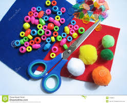 kids craft items royalty free stock photography image 1158957
