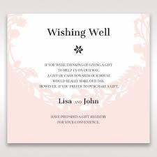 wedding registry invitation wedding invitation gift registry wording wedding collection ideas
