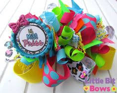 loopy bow miss heartbreaker funky loopy bow by meganwsbowtique on