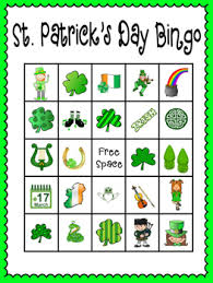s day bingo st s day bingo 30 completely different cards calling
