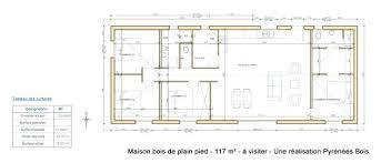 maison 6 chambres plan maison bois plain pied chambres 33847 sprint co