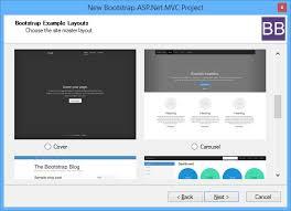 bootstrap sites templates bootstrap bundle visual studio marketplace