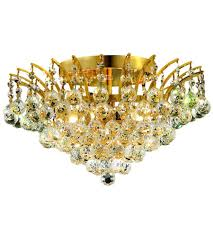 gold flush mount light elegant lighting v8031f16g ss victoria 6 light 16 inch gold flush