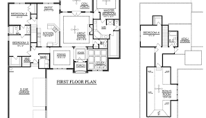 pardee homes floor plans 4 bedroom floor plans one story luxamcc org
