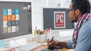 professional graphic design how to choose the right monitor for graphic design pcmag