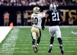 raiders u0027 sean smith benched during win over saints