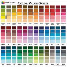 magic palette artist u0027s color value guide foxy studio