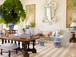 Bunny Williams Interiors Architectural Digest Bunny Williams And John Rosselli Dine In