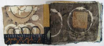 Wabi Sabi Book Textile Book 3 Cherry Hirsch