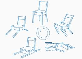 Chair Factory Falls This Self Healing Robotic Chair Falls Apart And Picks Itself Back