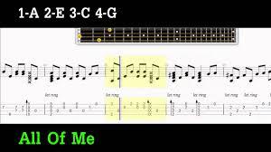 Count On Me Ukulele Tabs Pdf Legend All Of Me Ukulele Fingerstyle Guitar Pro Tab Pdf Tab