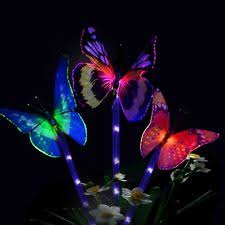 Solar Lights For Backyard Solar Butterfly Yard Garden U0026 Outdoor Living Ebay