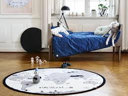 tapis rond chambre tapis enfant rond carrelage design tapis rond enfant moderne design