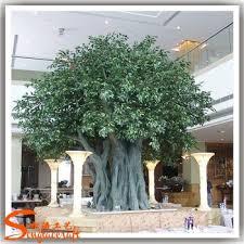 ornamental ficus tree cheap artificial metal banyan tree and