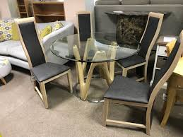 round dining table 4 chairs dune round dining table 4 chairs eyres furniture