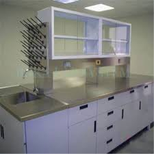 Stainless Steel Bench Top Metal Laboratory Casework And Labe Bench With Stainless Steel Tops