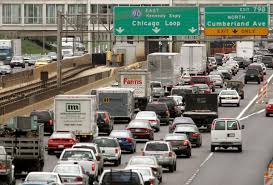 Chicago Traffic Map Chicago Commute Among Country U0027s Most Unreliable Study Nbc Chicago