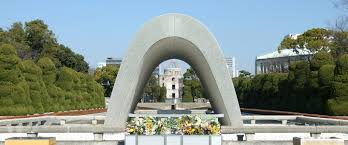 memorial monuments cenotaph for a bomb victims memorial monument for hiroshima city