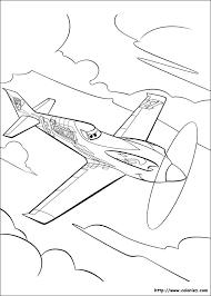 Coloriage Porte Avion  Les beaux dessins de Transport à imprimer et