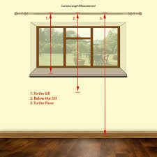 How To Calculate Yardage For Curtains Cozy How To Measure Curtains Beautiful Ideas Imagine Design How