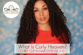 curly hair extensions clip in what is curly heaven curly clip in hair extensions