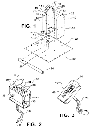 patent us6173622 automatic transmission shifter control tower