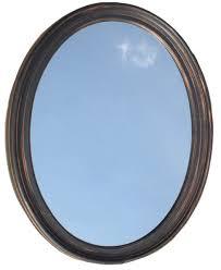american pride 9508ven warwick bathroom mirror round oval wall
