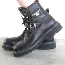 womens harley davidson boots canada shop s grunge boots on wanelo