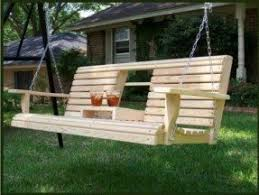 5 Ft Patio Swing With Cedar Pergola Create by Patio Porch Swings Foter