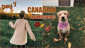 Canadian Thanksgiving History Vlogtober Day 7 Happy Canadian Thanksgiving Youtube
