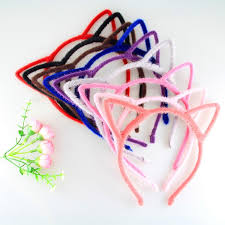 girl hair accessories multi color fashion leopard solid color hair accessories