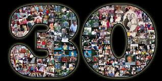 30th birthday collage for the 30 year gift ideas